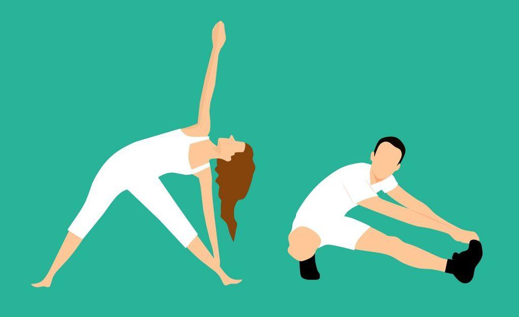 الإحماء والتسخين قبل ممارسة أي رياضة